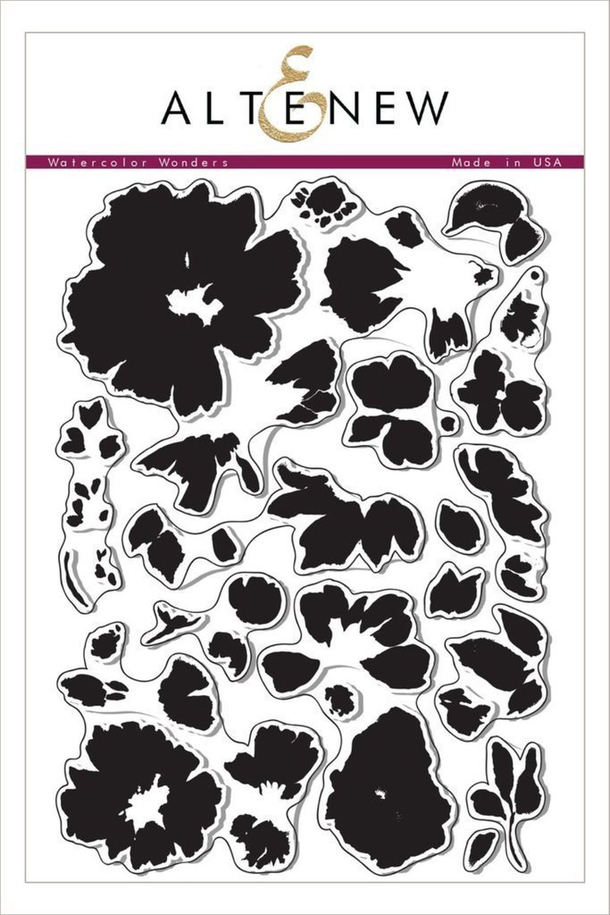 Altenew WATERCOLOR WONDERS Clear Stamp Set