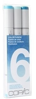 Copic Sketch COLOR FUSION Trio Set 6