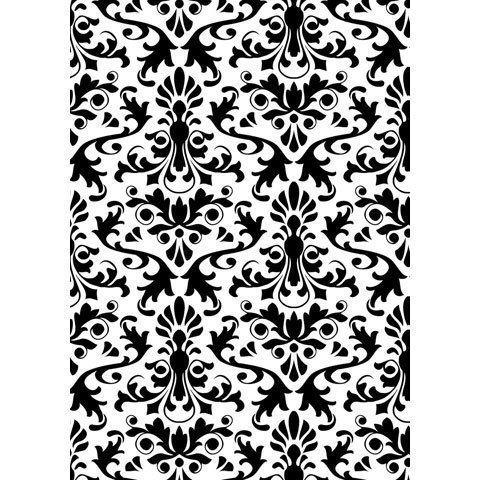 Darice DAMASK Embossing Folder