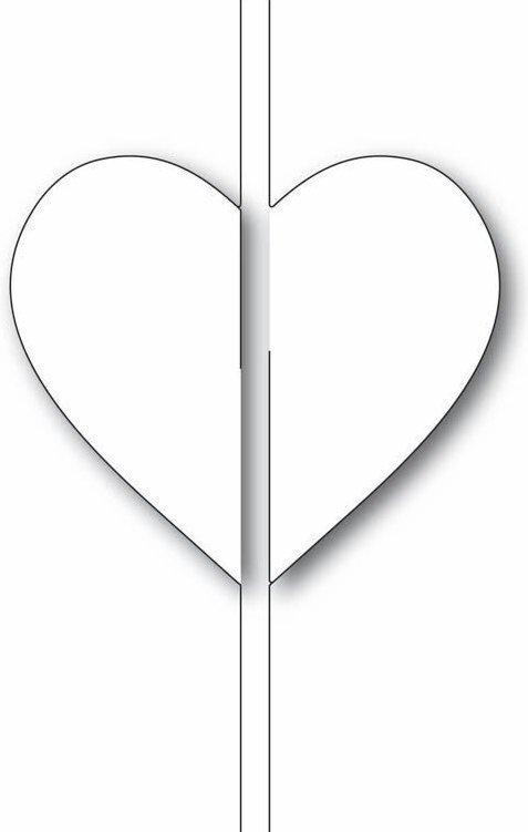 Memory box HEART CLOSER Die