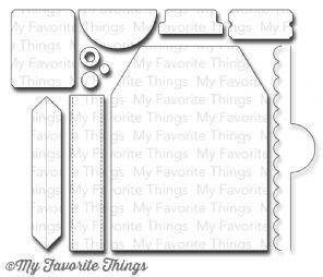 My Favorite Things BLUEPRINTS 9 Die-namics Die Set
