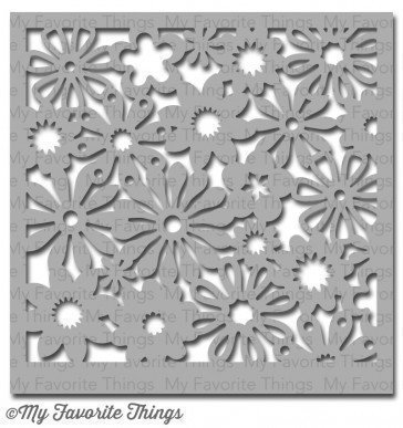 My Favorite Things FUNKY FLORALS Stencil