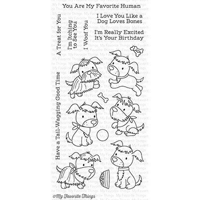 My Favorite Things PUPPY PALS Clear Stamp Set