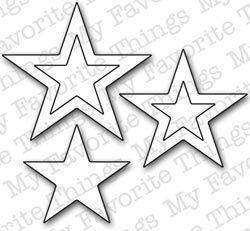 My Favorite Things STACKING STARS Die-namics Die
