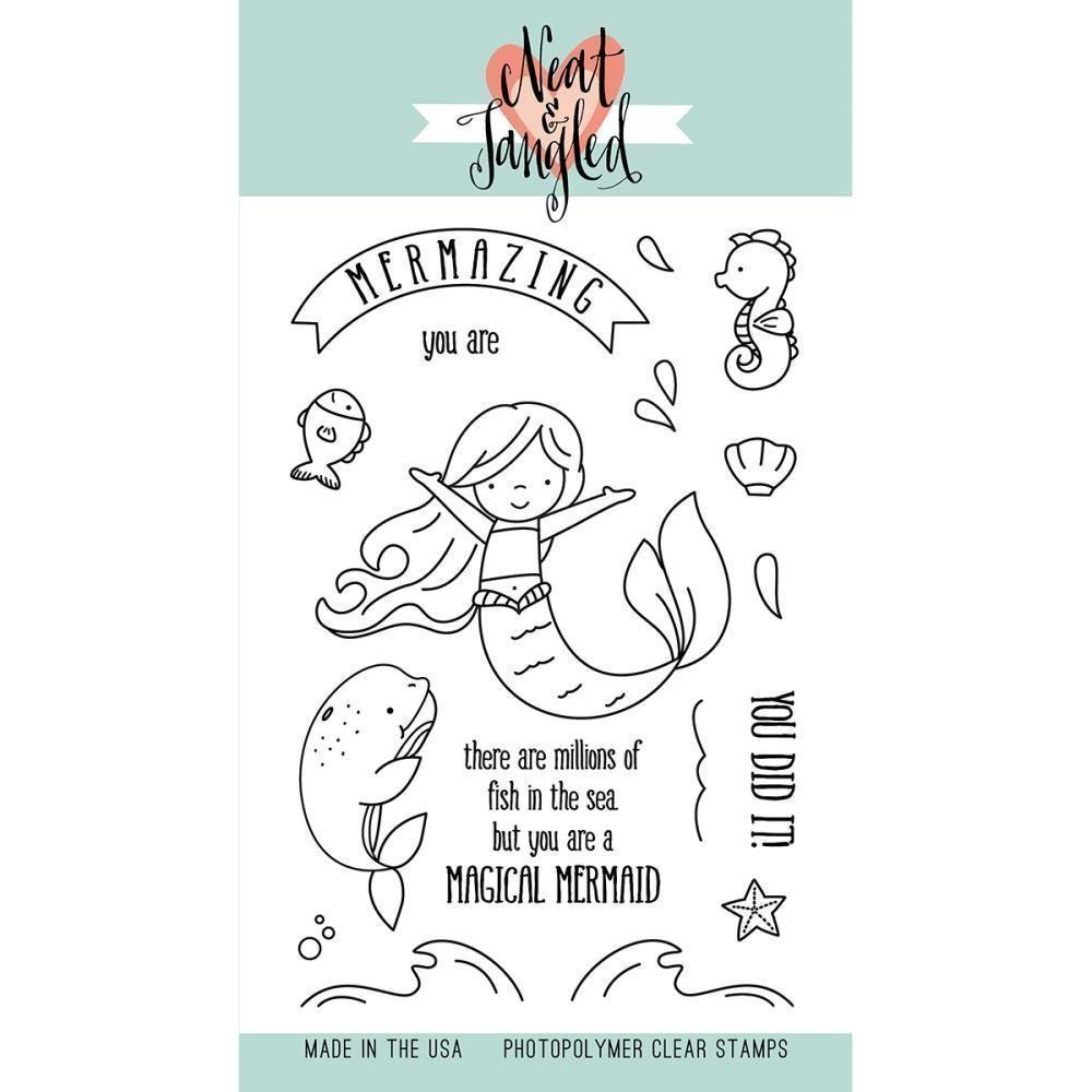 Neat & Tangled MERMAZING Clear Stamp Set