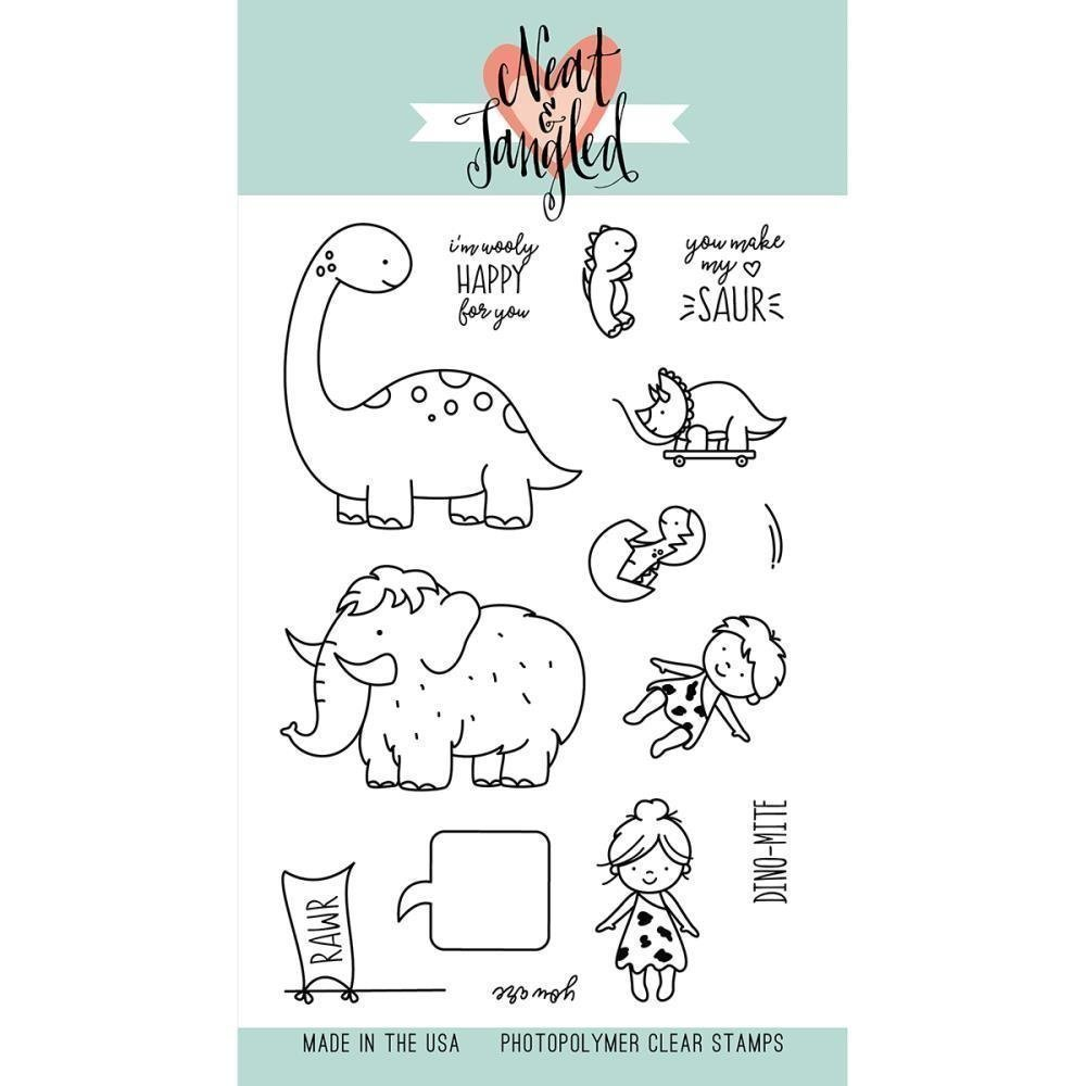 Neat & Tangled PRE-HISTORIC Clear Stamp Set