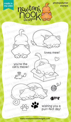 Newton's Nook NEWTON'S ANTICS Clear Stamp Set