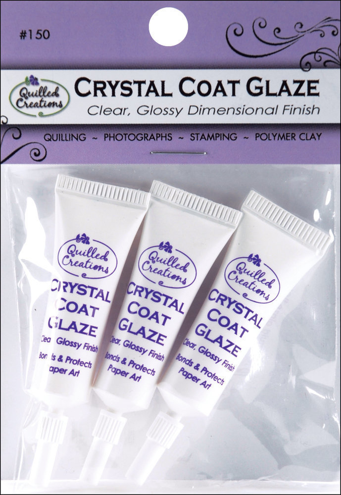 Quilled Creations CRYSTAL COAT GLAZE 3pc/pk