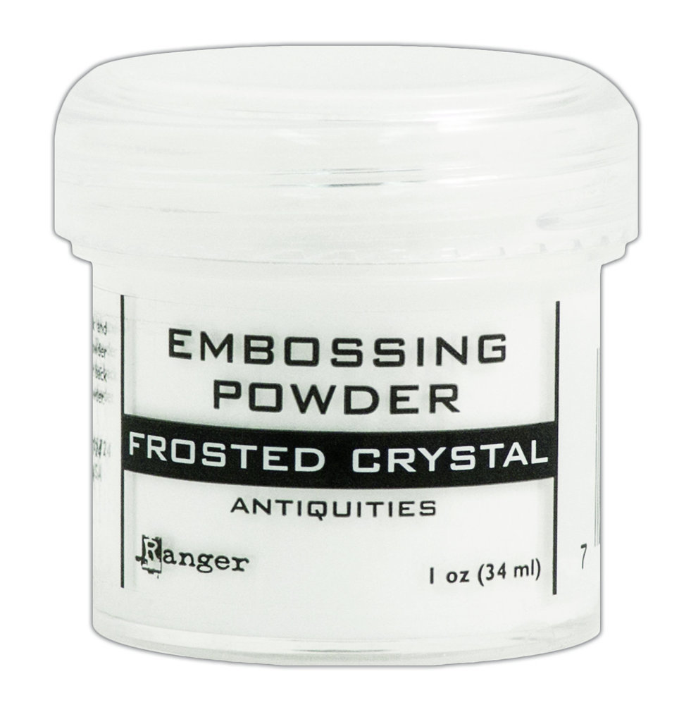Ranger FROSTED CRYSTAL Antiquities Embossing Powder 1oz