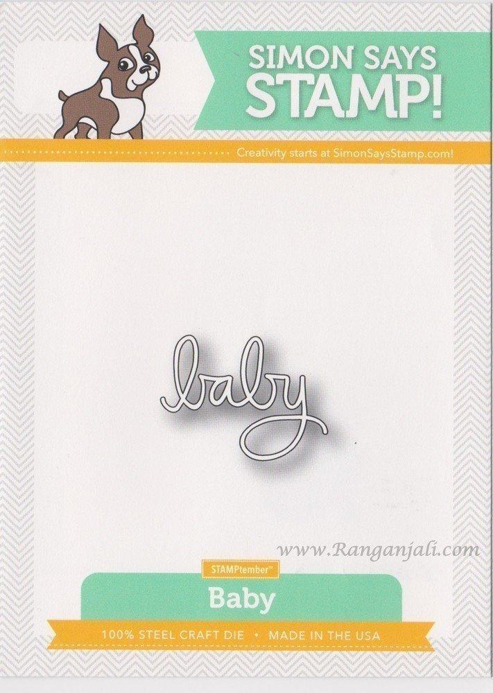 Simon Says Stamp BABY Craft Die