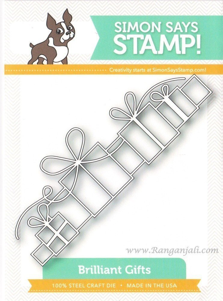 Simon Says Stamp BRILLIANT GIFTS Craft Die