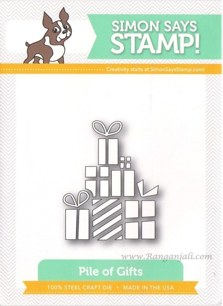 Simon Says Stamp PILE OF GIFTS Craft Die
