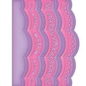 Spellbinders Borderabilities A2 SCALLOPED Border One Card Creator Die Set