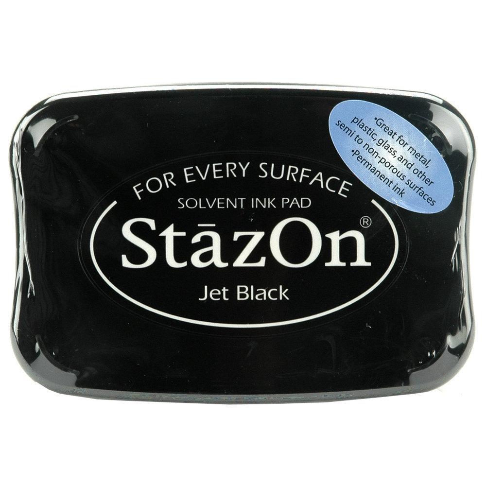 StazOn JET BLACK Ink Pad