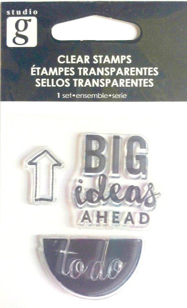 Studio G PLANNER 4 Clear Mini Stamp Set