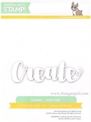 Simon Says Stamp PAINTED CREATE Wafer Dies