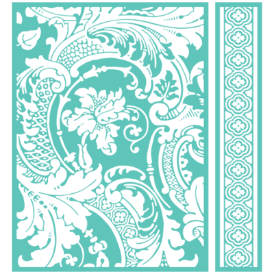 Cuttlebug ACANTHUS Embossing Folder & Border