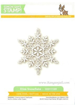 Simon Says Stamp ELIZA SNOWFLAKE Craft Die