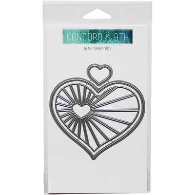 Concord & 9th HEARTSTRINGS Die Set