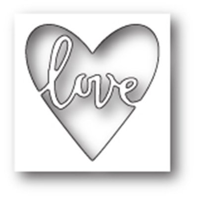Memory Box SCRIBBLE LOVE HEART Die