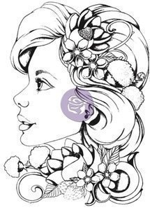 Prima Marketing SOPHIE Bloom Cling Stamp