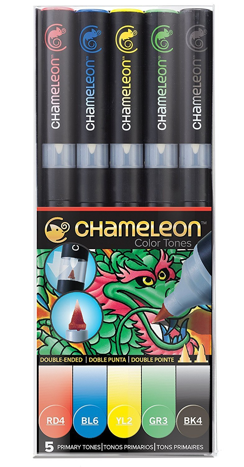 Chameleon PRIMARY TONES Alcohol Ink Pen Set