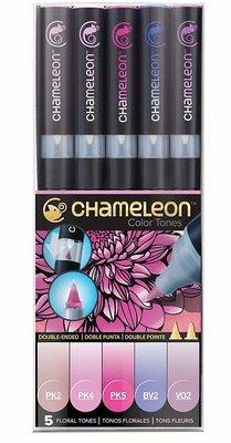 Chameleon FLORAL TONES Alcohol Ink Pen Set