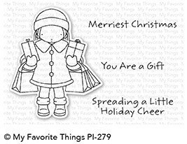 My Favorite Things HOLIDAY CHEER Clear Stamp Set
