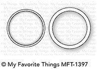 My Favorite Things MINI CIRCLE SHAKER WINDOW & FRAME Die-namics Die Set