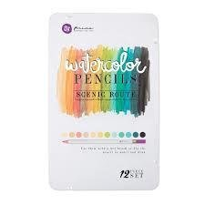 Prima Marketing SCENIC ROUTE Watercolor Pencil Set