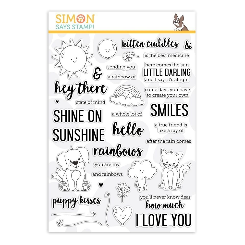 Simon Says Stamp HEY THERE SUNSHINE Clear Stamp Set