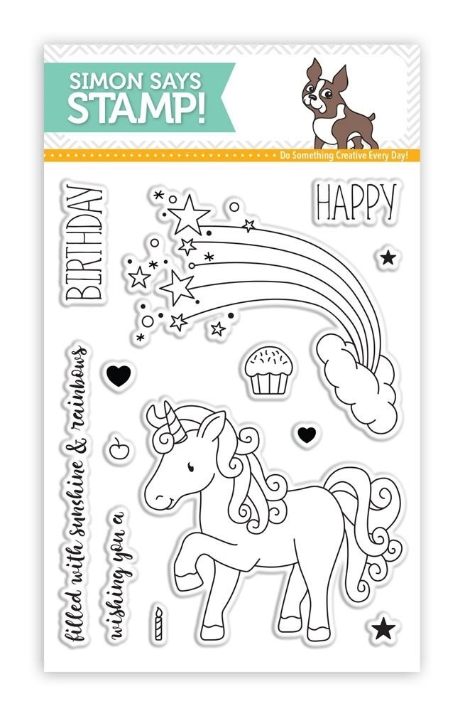 Simon Says Stamp MAGICAL BIRTHDAY Clear Stamp Set