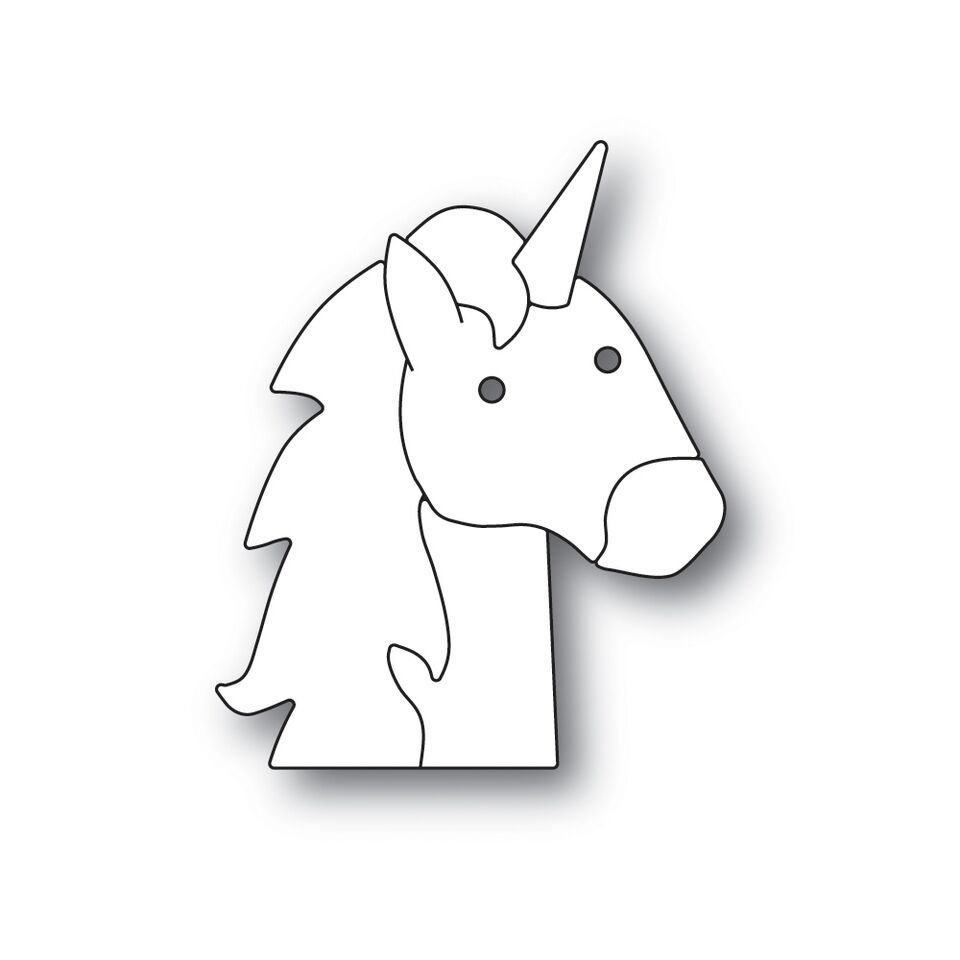 Simon Says Stamp PICTURE BOOK UNICORN Die