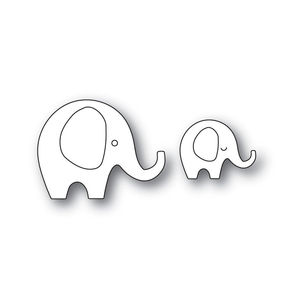 Simon Says Stamp SWEET ELEPHANTS Die Set