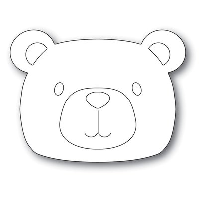 Simon Says Stamp PICTURE BOOK BEAR Die