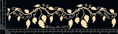 Dusty Attic VINE BORDER Lasercut Designs