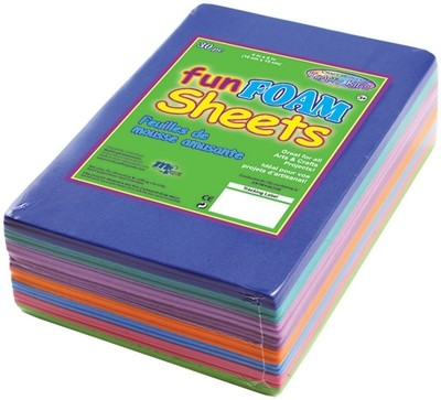 Craft Medley Craft FUN FOAM Sheets 30/pkg 4