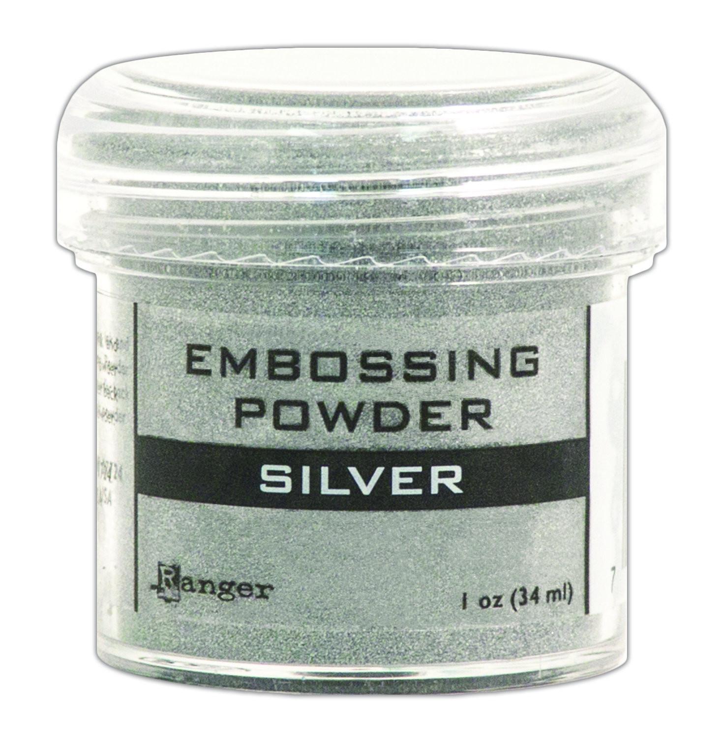 Ranger SILVER Embossing Powder 1oz