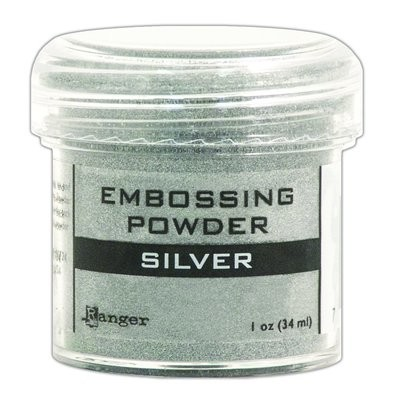 Ranger SILVER Embossing Powder 1oz