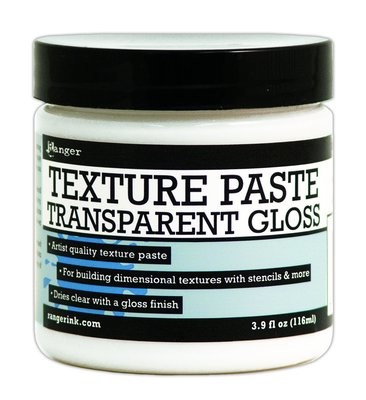 Ranger TRANSPARENT GLOSS Texture Paste