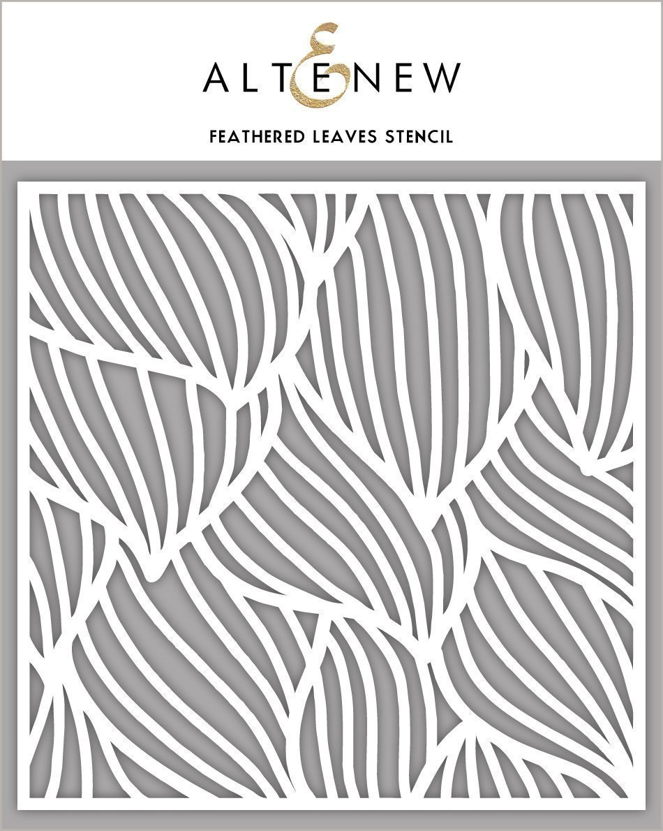 Altenew FEATHERED LEAVES Stencil