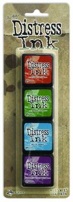 Tim Holtz Distress Mini Ink Kit #2