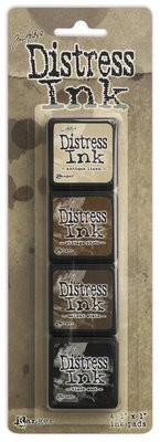 Tim Holtz Distress MINI INK KIT #3