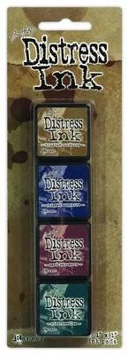 Tim Holtz Distress MINI INK KIT #12