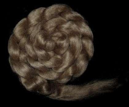 Muga Silk (Wild Silk) Roving/Sliver - 25g