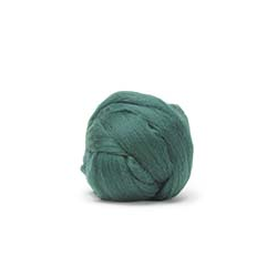 Hunter Green - Dyed Corriedale Top
