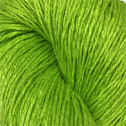 Flourescent Green EUROFLAX - 100% Linen  - 100 grams