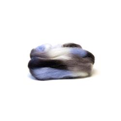 Icy Winter - Northern Lights Printed Wool Top