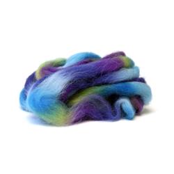 Violets - Northern Lights Printed Wool Top