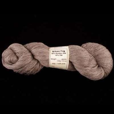 Silken Fog - Silk-Blend Yarn (55% Bombyx Silk & 45% Yak)